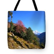 Path To The Mountains Tote Bag by FireFlux Studios