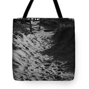 Pathway Through the Dunes Tote Bag by Luke Moore