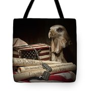 Patriotism Tote Bag by Tom Mc Nemar