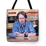 Pause For Reflection Tote Bag by Tom Roderick