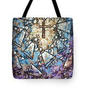 Peace Tote Bag by Anthony Falbo