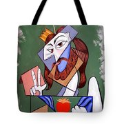 Peace Be With You Tote Bag by Anthony Falbo