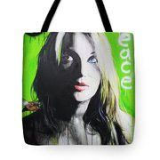 'Peace' Tote Bag by Christian Chapman Art
