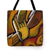 Peace Tote Bag by Leon Zernitsky