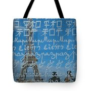 Peace Memorial Paris Tote Bag by Brian Jannsen