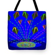 Peace Offering Tote Bag by Cynthia Johnson