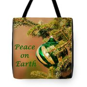 Peace On Earth Tote Bag by Francie Davis