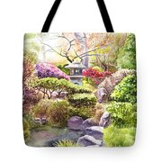 Peaceful Garden Tote Bag by Irina Sztukowski