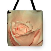 Peaches And Cream Tote Bag by Kaye Menner