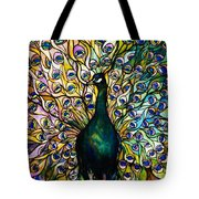 Peacock Tote Bag by American School