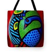 Peacock Egg II  Tote Bag by John  Nolan