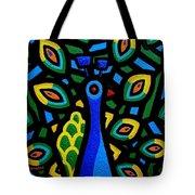 Peacock IIi Tote Bag by John  Nolan