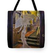 Peacock Room Door Tote Bag by Diane Wood
