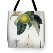 Pear Tote Bag by Pierre Antoine Poiteau