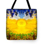 Pearlescent  Tote Bag by Omaste Witkowski