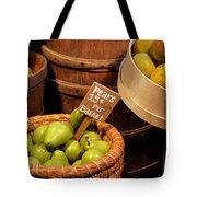 Pears - 15 Cents Per Basket Tote Bag by Christine Till