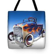 Peddle Car Tote Bag by Mike McGlothlen