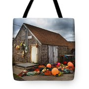 Peggy's Cove 15 Tote Bag by Betsy Knapp