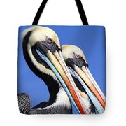 Pelican Perfection Tote Bag by James Brunker