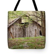 Pendleton County Barn Tote Bag by Randy Bodkins