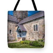 Penmon Priory Tote Bag by Adrian Evans