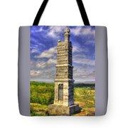 Pennsylvania At Gettysburg - 91st Pa Veteran Volunteer Infantry - Little Round Top Spring Tote Bag by Michael Mazaika