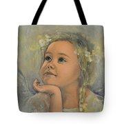 Pensive - Angel 22 Tote Bag by Dorina  Costras