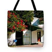 Pepes In Key West Florida Tote Bag by Susanne Van Hulst