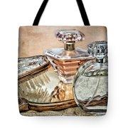 Perfume Bottle Ix Tote Bag by Tom Mc Nemar