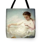 Personification Of The Sciences Tote Bag by Charles Chaplin