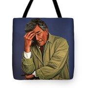 Peter Falk as Columbo Tote Bag by Paul Meijering
