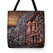 Petra The Treasury Tote Bag by Dan Yeger