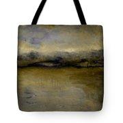 Pewter Skies Tote Bag by Michelle Calkins