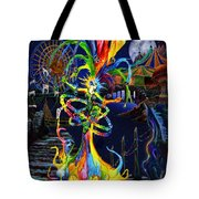 Phantom Carnival Tote Bag by Kd Neeley