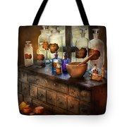 Pharmacist - Medicinal Equipment  Tote Bag by Mike Savad