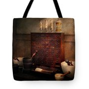 Pharmacist - Organizing Powder Tote Bag by Mike Savad
