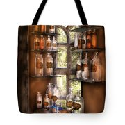 Pharmacist - Various Potions Tote Bag by Mike Savad