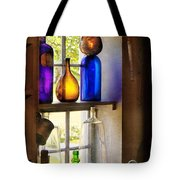 Pharmacy - Colorful Glassware  Tote Bag by Mike Savad