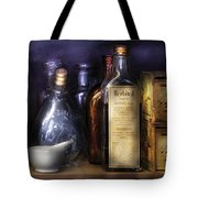 Pharmacy - Constipated  Tote Bag by Mike Savad
