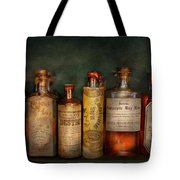 Pharmacy - Daily Remedies  Tote Bag by Mike Savad