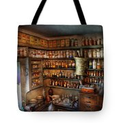 Pharmacy - Medicinal Chemistry Tote Bag by Mike Savad