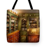 Pharmacy - Room - The Dispensary Tote Bag by Mike Savad