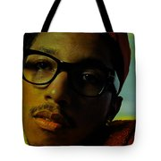 Pharrell Williams Tote Bag by Marvin Blaine