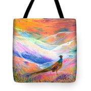 Pheasant Moon Tote Bag by Jane Small