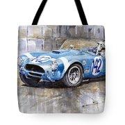 Phil Hill Ac Cobra-ford Targa Florio 1964 Tote Bag by Yuriy Shevchuk