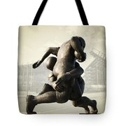 Philadelphia Eagles Tote Bag by Bill Cannon