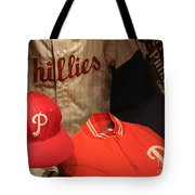 Philadelphia Phillies Tote Bag by David Rucker