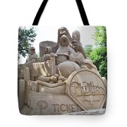 Phillies Sandsculpture Tote Bag by Barbara McDevitt