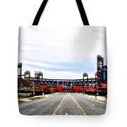 Phillies Stadium - Citizens Bank Park Tote Bag by Bill Cannon