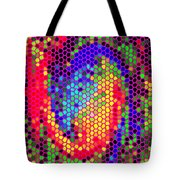Phone Case Art Colorful Intricate Abstract Geometric Designs By Carole Spandau 129 Cbs Art Exclusive Tote Bag by Carole Spandau